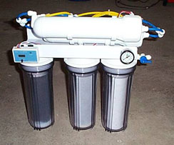 4 stage reverse osmosis water treatment system